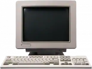 Old computer - it network history