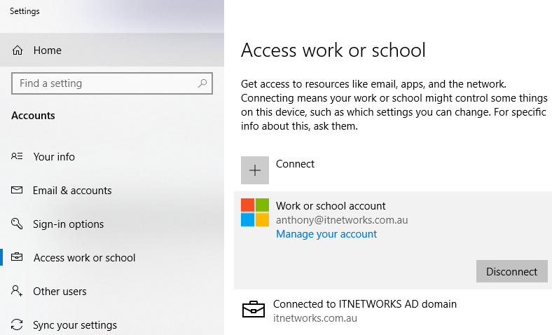 Access School and Work