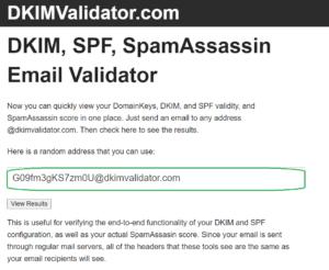 dkim validator email check