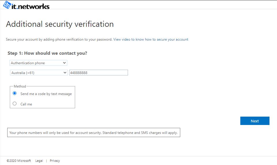 Verify Information