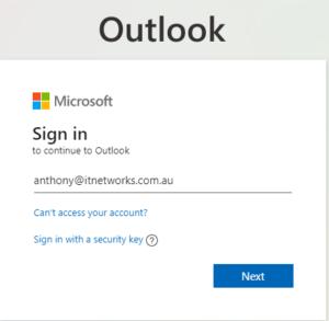 Setup MFA for your Microsoft 365 account