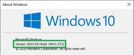 Windows Version (winver) image