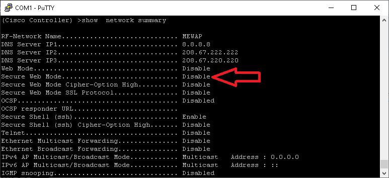 cisco ap enable web