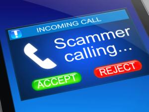 Report scam